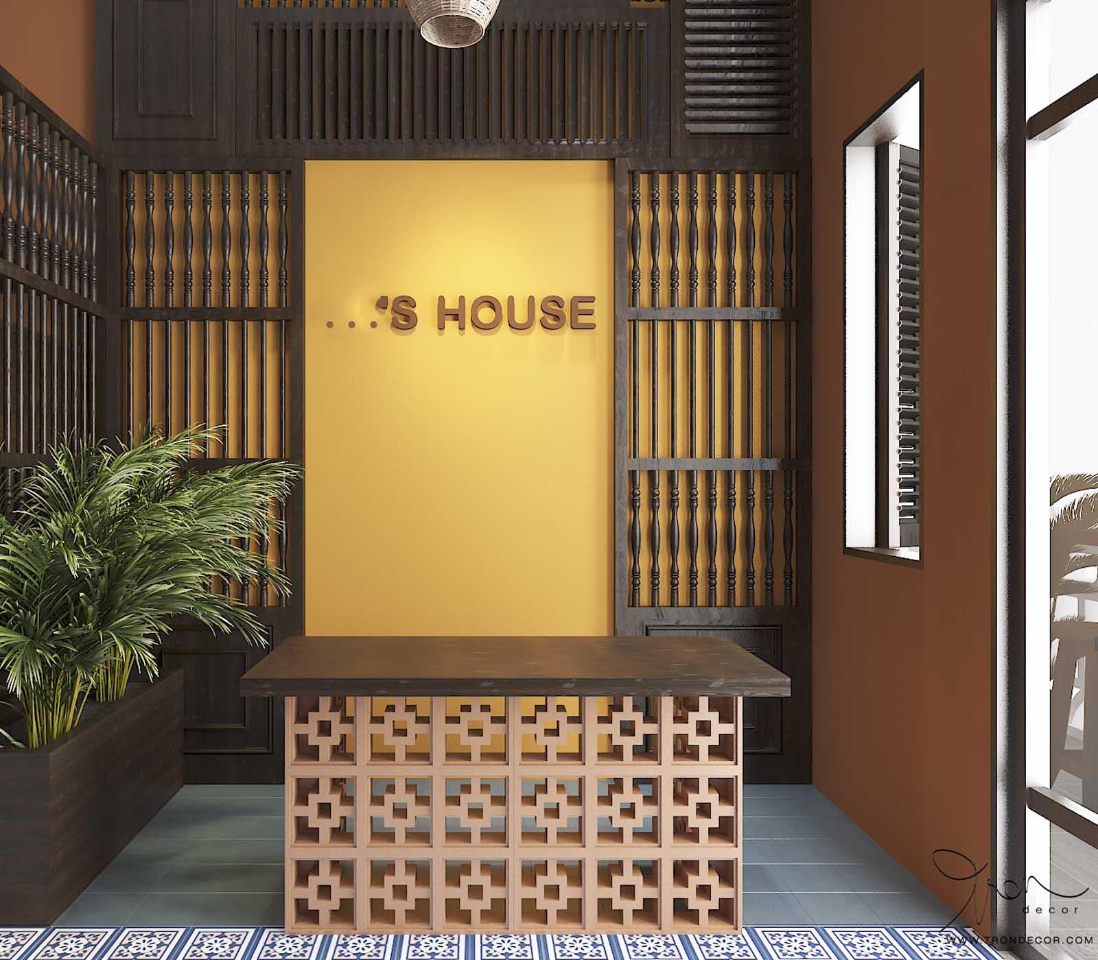 THIẾT KẾ HOMESTAY 120M2 - ...'S HOUSE