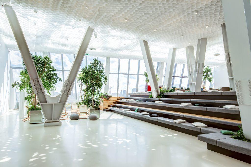 Thiết kế văn phòng phong cách hiện đại 2019 - Tròn Decor
