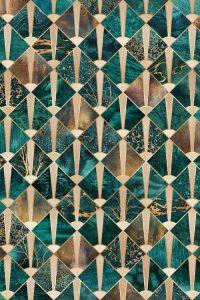 Tròn Decor - Art Deco pattern - trang trí vách