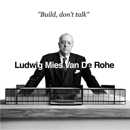 """Kiến trúc sư Ludwig Mies van der Rohe (1886 – 1969 ) được coi là cha đẻ của """"phong cách Minimalist"""""""