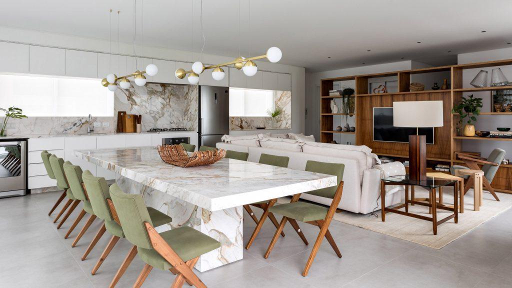 Sự phá cách trong phong cách thiết kế Scandinavian với vật liệu đá marble