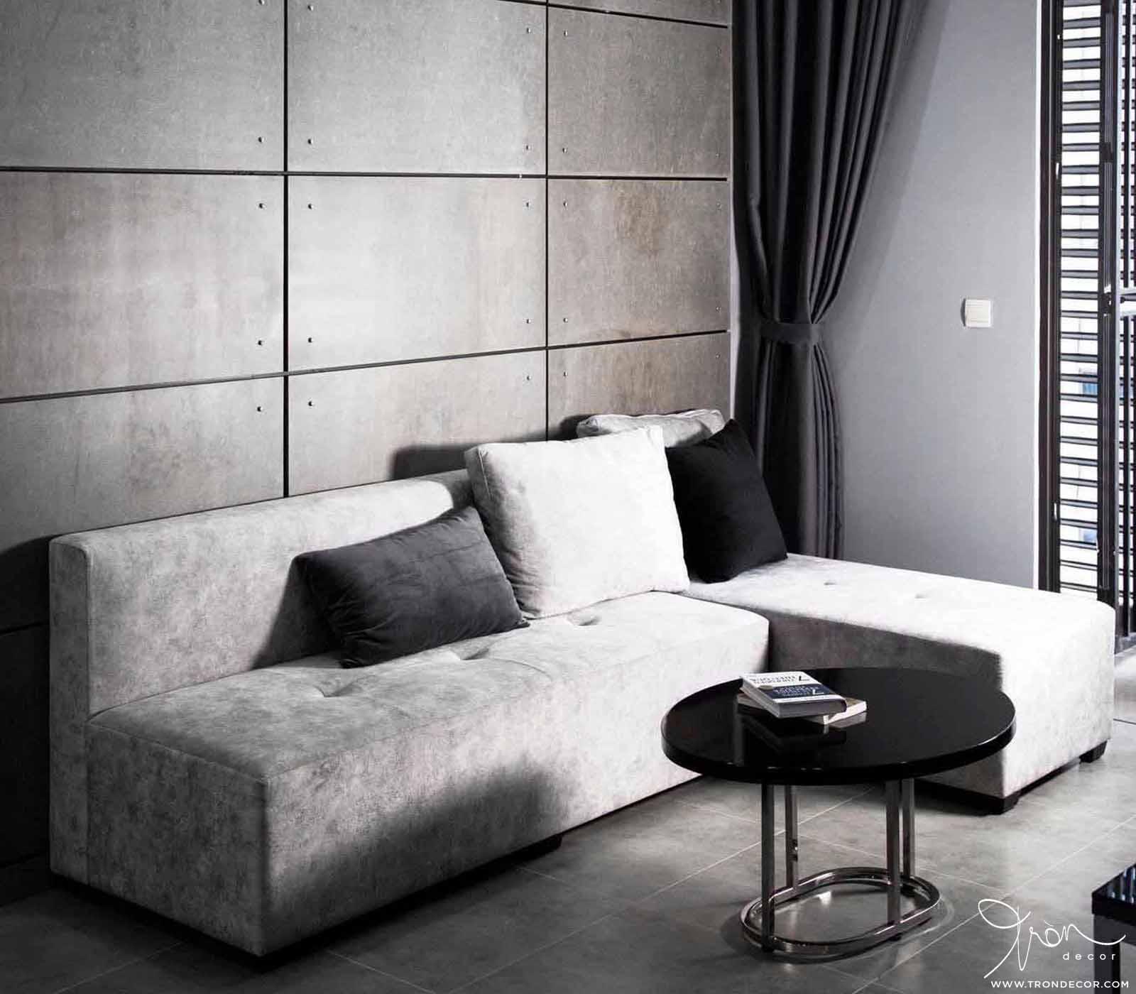 Tròn Decor thi công nội thất căn hộ Hà Đô Centrosa 1 phòng ngủ