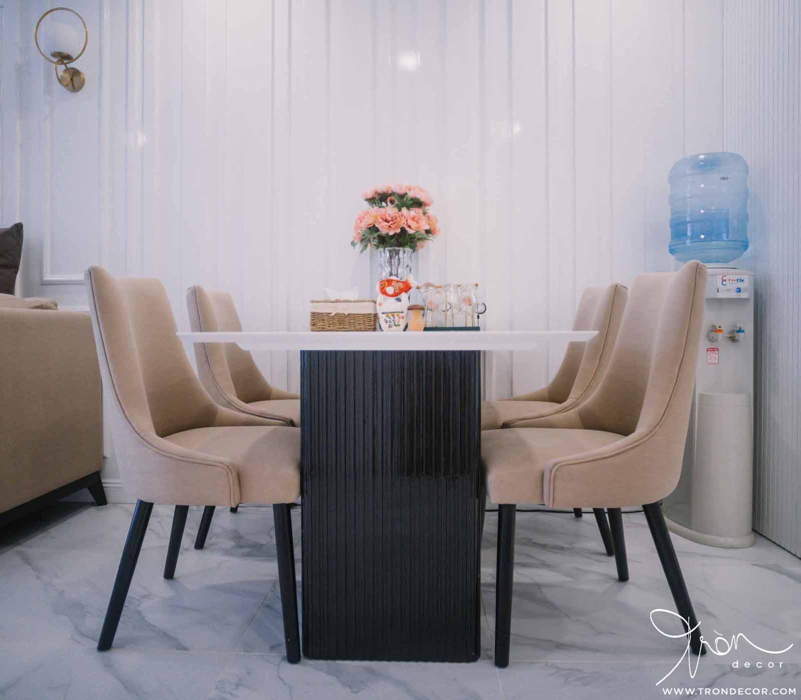 Tròn Decor thi công nội thất căn hộ Sài Gòn South Residences