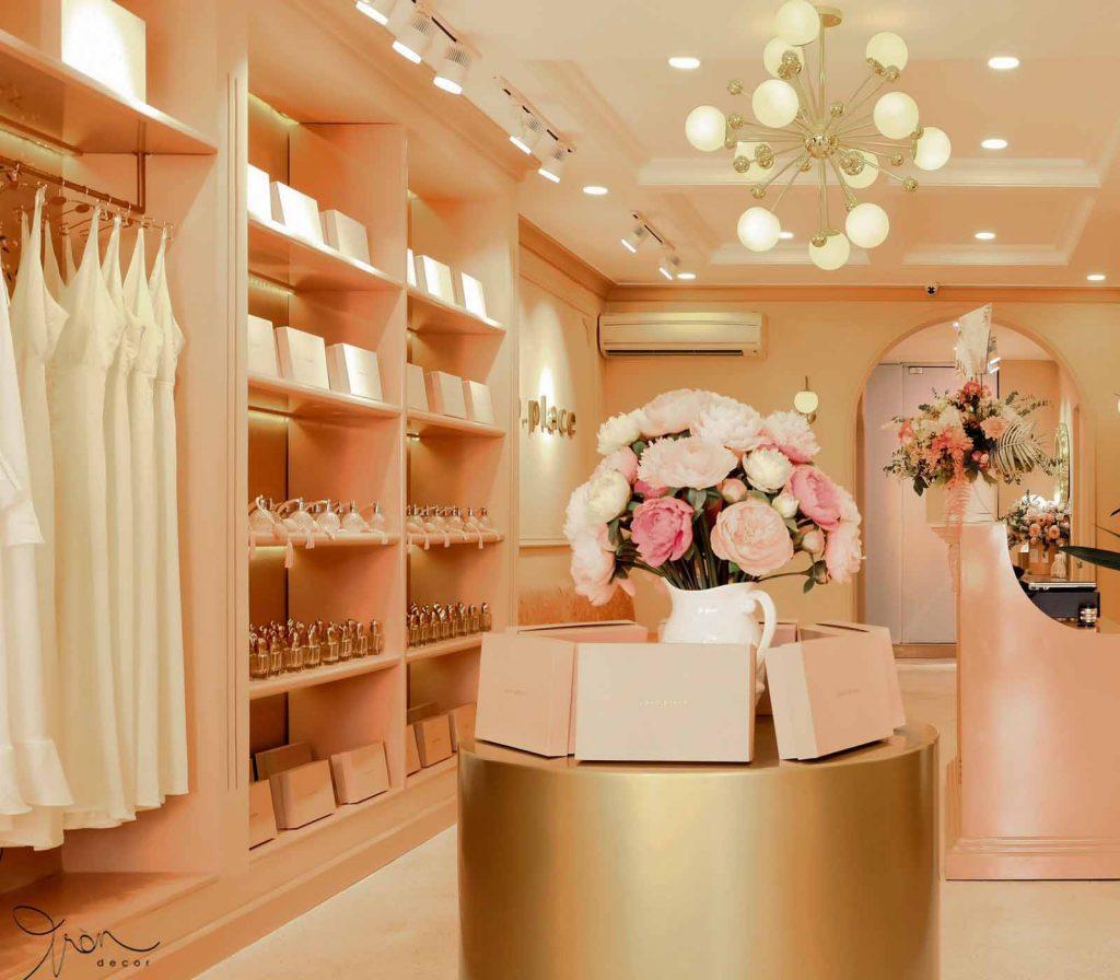 Tròn Decor thi công shop thời trang Yoko Place